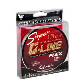 Gamakatsu Super G-Line Flex 0.24mm 300m monofile Schnur