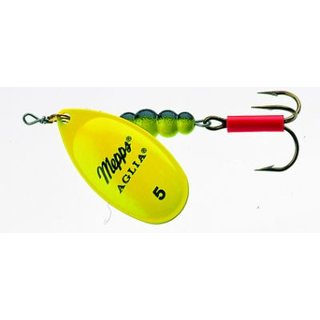 Mepps Aglia Fluo chartreuse Spinner Gr. 1, 3.5g