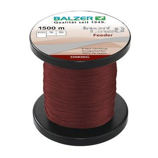 Balzer IronLine 8 Feeder 0.12mm 1500m