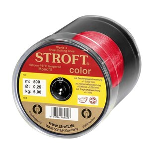 STROFT color rot 500m  0,13mm