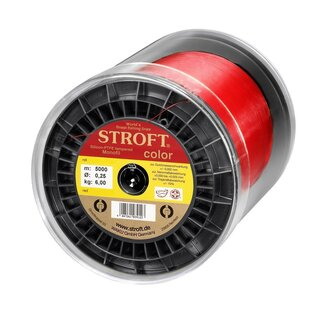 STROFT color rot 5000m  0,22mm