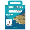 Spro C-TEC Vorfachhaken Fast Rigs Bream 45cm Gr.10