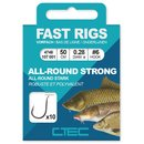 Spro C-TEC Vorfachhaken Fast Rigs Allround Strong 50cm Gr.10