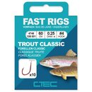Spro C-TEC Vorfachhaken Fast Rigs Trout Forelle Classic...