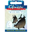Gamakatsu Bream Feeder LS-1810 Vorfachhaken 100cm 0.14mm...