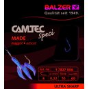 Balzer Camtec Speci Vorfach-Haken Made 0.16mm 60cm #12...